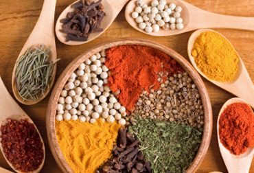 Food ingredients for Asian cuisine ingredients